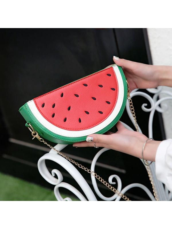 Modakawa Bag Watermelon Watermelon Lemon Crossbody Bag