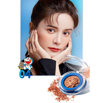 Modakawa Beauty 04 / One Size Cute Cartoon Face Blush Palette