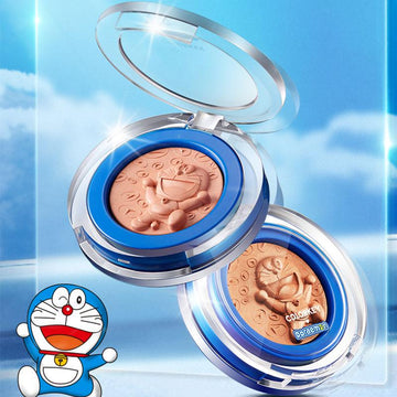 Modakawa Beauty Cute Cartoon Face Blush Palette