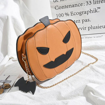 Modakawa Crossbody Bag Brown / One Size Pumpkin Crossbody Bag