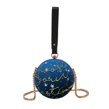 Modakawa Crossbody Bag Mini Chain Universe Star Crossbody Bag