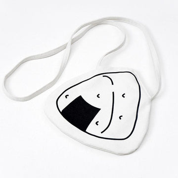 Modakawa Crossbody Bag Onigiri Sushi Crossbody Mini Bag