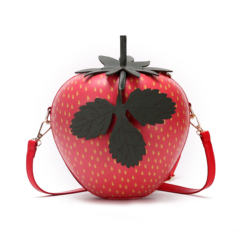Modakawa Crossbody Bag Strawberry Crossbody Bag