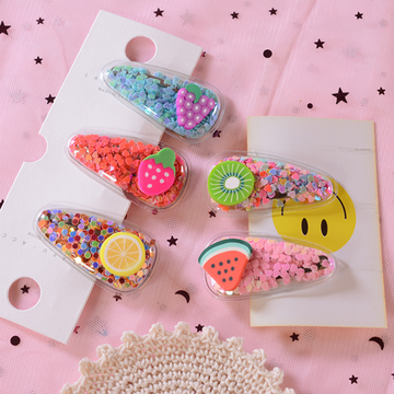 Modakawa Cute Things Kawaii Sweet Fruit Hair Clip