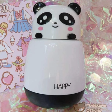 Modakawa Cute Things Panda / One Size Vacuum Insulated Travel Mug