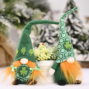 Modakawa Cute Things St. Patrick's Day High Hat Dwarf Plush toy