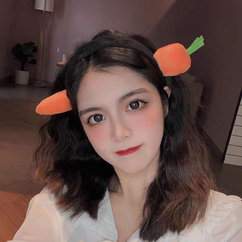 Modakawa Hair Accessories Carrot / One Size Carrot Shark Headband Hair Accessory