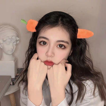 Modakawa Hair Accessories Carrot Shark Headband Hair Accessory
