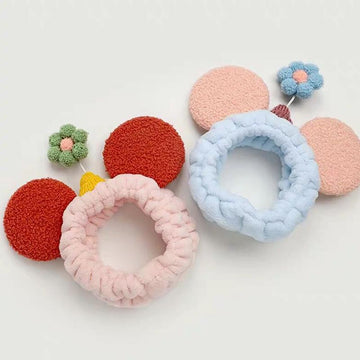 Modakawa Hair Accessories Flower Ears Headband Hair Accessory