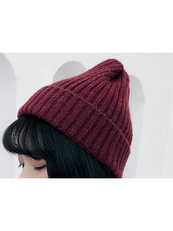 Modakawa Hat 1 Candy Color Beanie Hat for Spring and Autumn