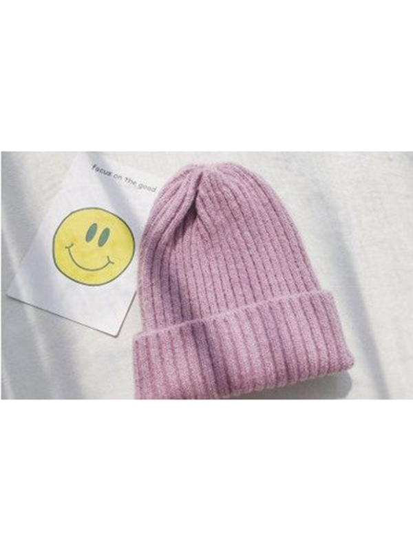 Modakawa Hat 2 Candy Color Beanie Hat for Spring and Autumn