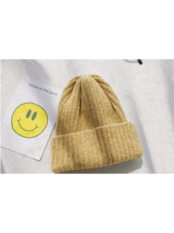 Modakawa Hat 3 Candy Color Beanie Hat for Spring and Autumn