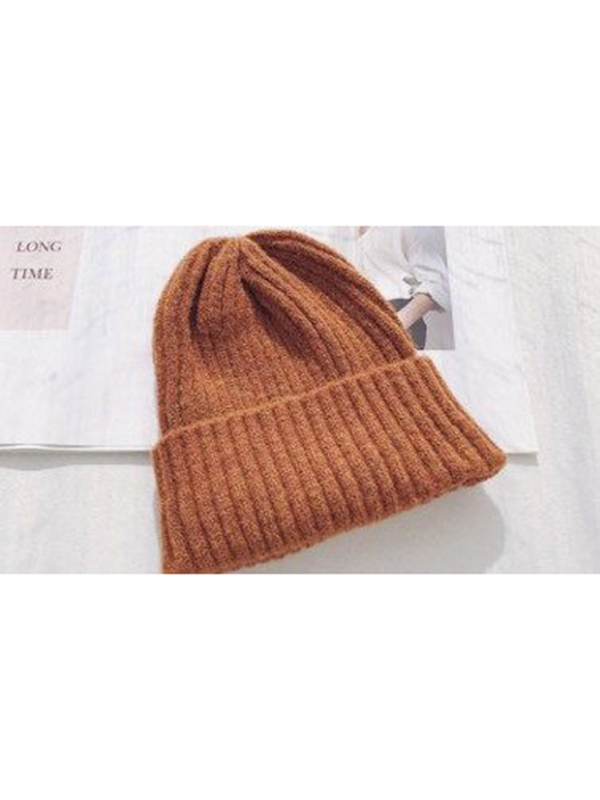 Modakawa Hat 4 Candy Color Beanie Hat for Spring and Autumn