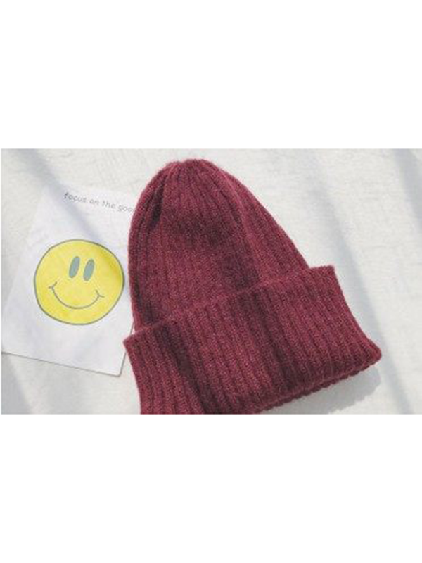 Modakawa Hat 6 Candy Color Beanie Hat for Spring and Autumn