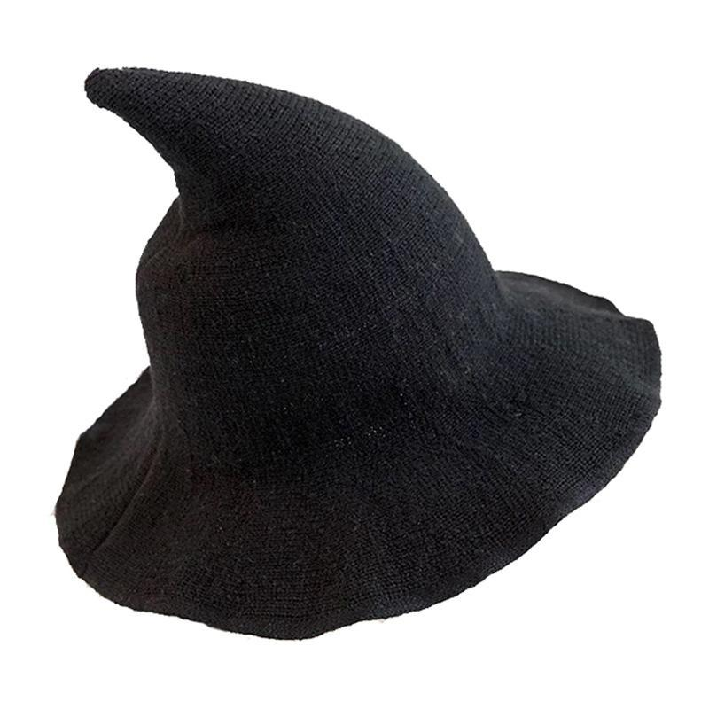 Modakawa Hat Black / One Size Halloween Witch Cosplay Hat