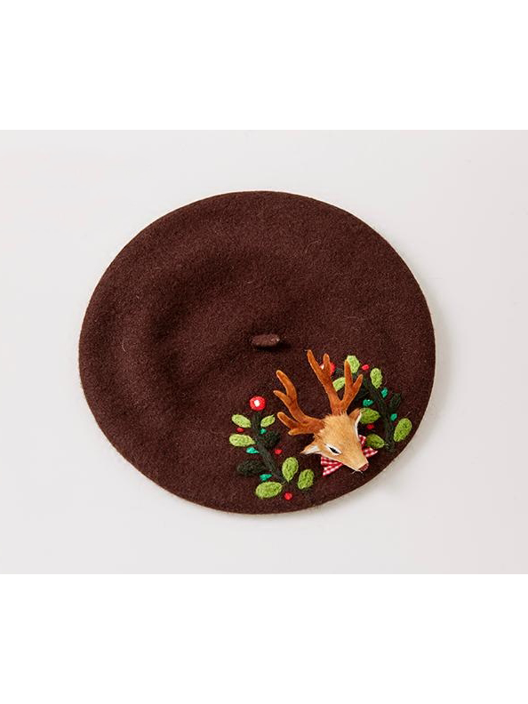 Modakawa Hat Little Doe Artist Beret Hat