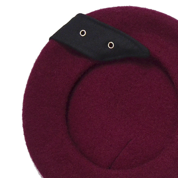 Modakawa hats Love Heart Buckle French Beret Hat