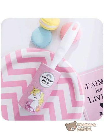 Modakawa Home Pink 1 Unicorn Printed Dust Roller