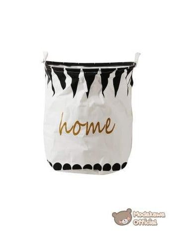 Modakawa Home White Large Storage Basket