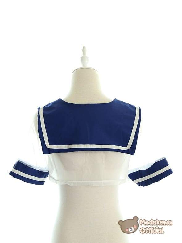Modakawa Intimates Japanese Transparent Sailor Uniform
