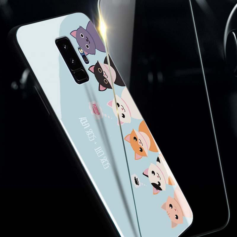 Modakawa Phone Case Cartoon Print Phone Case Cat Claw Samsung