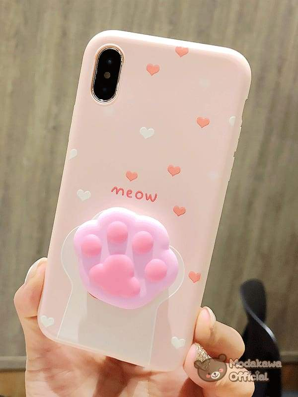Cute Cat Claw iPhone Case