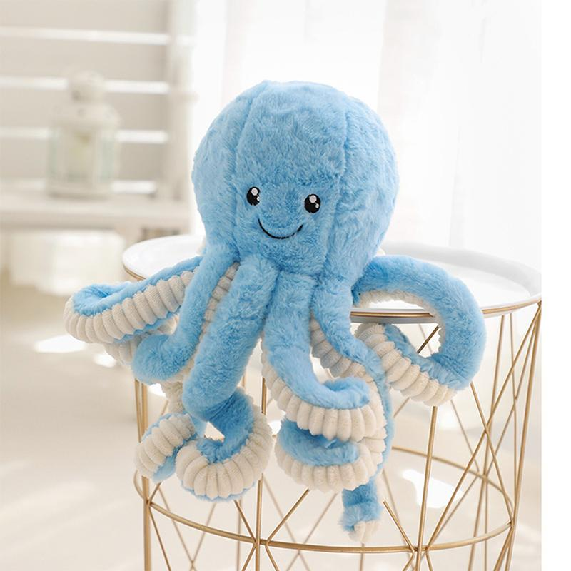 Modakawa Plushies Blue / 18cm/7.1in Octopus Cartoon Plush Toy