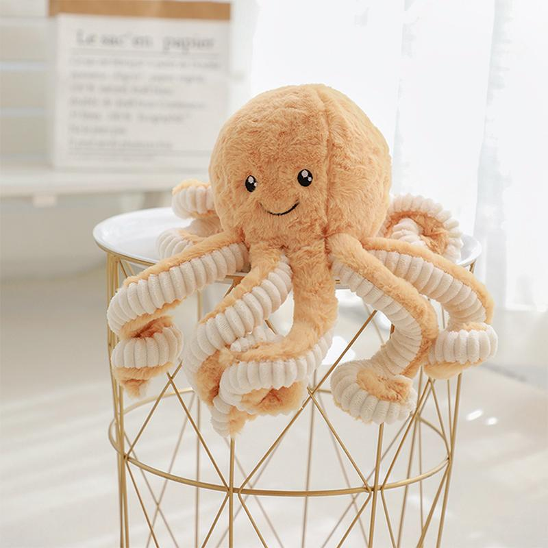 Modakawa Plushies Brown / 18cm/7.1in Octopus Cartoon Plush Toy