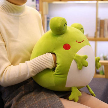 Modakawa Plushies Frog Pillow Plush Toy