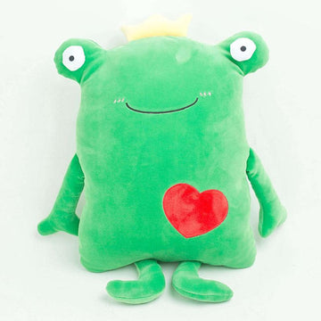 Modakawa Plushies Green / 65cm/25.7in Frog Love Heart Pillow Plush Toy