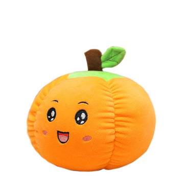 Modakawa Plushies Leaf Pumpkin / 20cm/7.9in Halloween Pumpkin Pillow Plush Toy