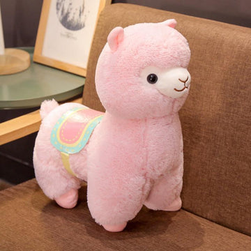 Modakawa Plushies Pink / 35cm/13.8in Alpaca Cartoon Plush Toy