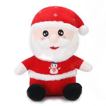 Modakawa Plushies Red / 25cm/9.8in Christmas Santa Claus Pillow Plush Toy