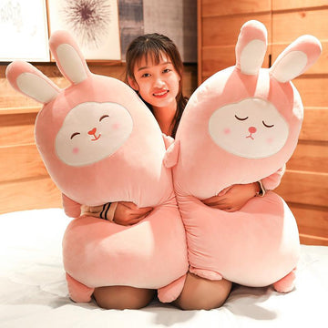 Modakawa Plushies Sakura Bunny Pillow Plush Toy