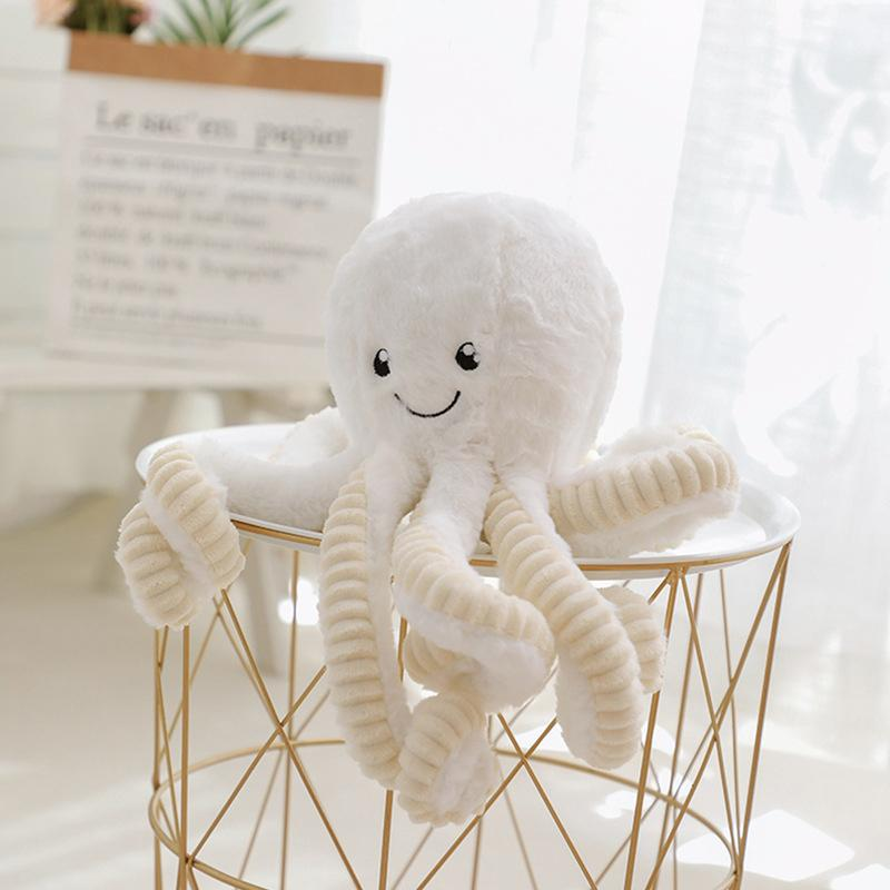 Modakawa Plushies White / 18cm/7.1in Octopus Cartoon Plush Toy
