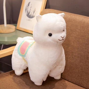 Modakawa Plushies White / 35cm/13.8in Alpaca Cartoon Plush Toy