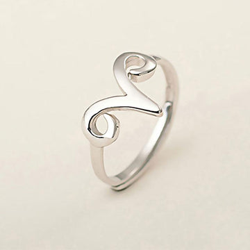 Modakawa Rings Silver / One Size Adjustable Sheep Aries 925 Sterling Silver Ring