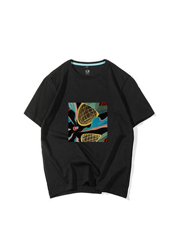 Modakawa Shirt Black / M Modakawa Anniversary Limited Edition T-Shirt: Bear With Pineapple