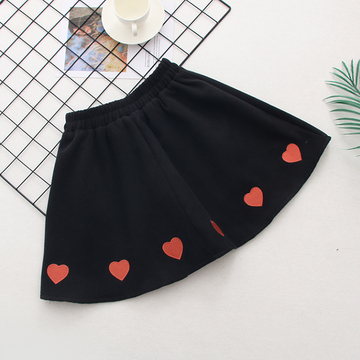 Modakawa Skirt Love Heart  A-Line Skirt