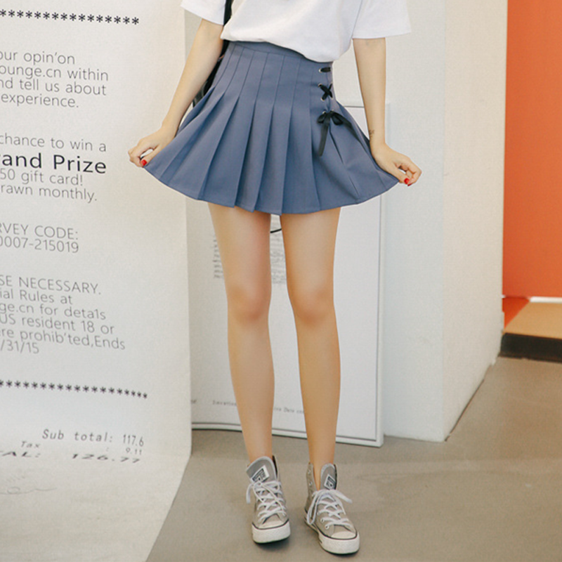 Modakawa Skirt Short Pleated School Girl Skirts