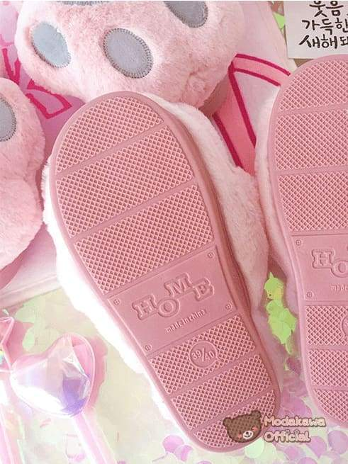 Cat Claw Slippers for Women Slippers Pink