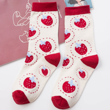 Modakawa Socks B / One Size Cute Cartoon Colorful Socks