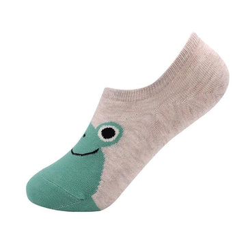 Modakawa Socks Frog Animal No Show Socks