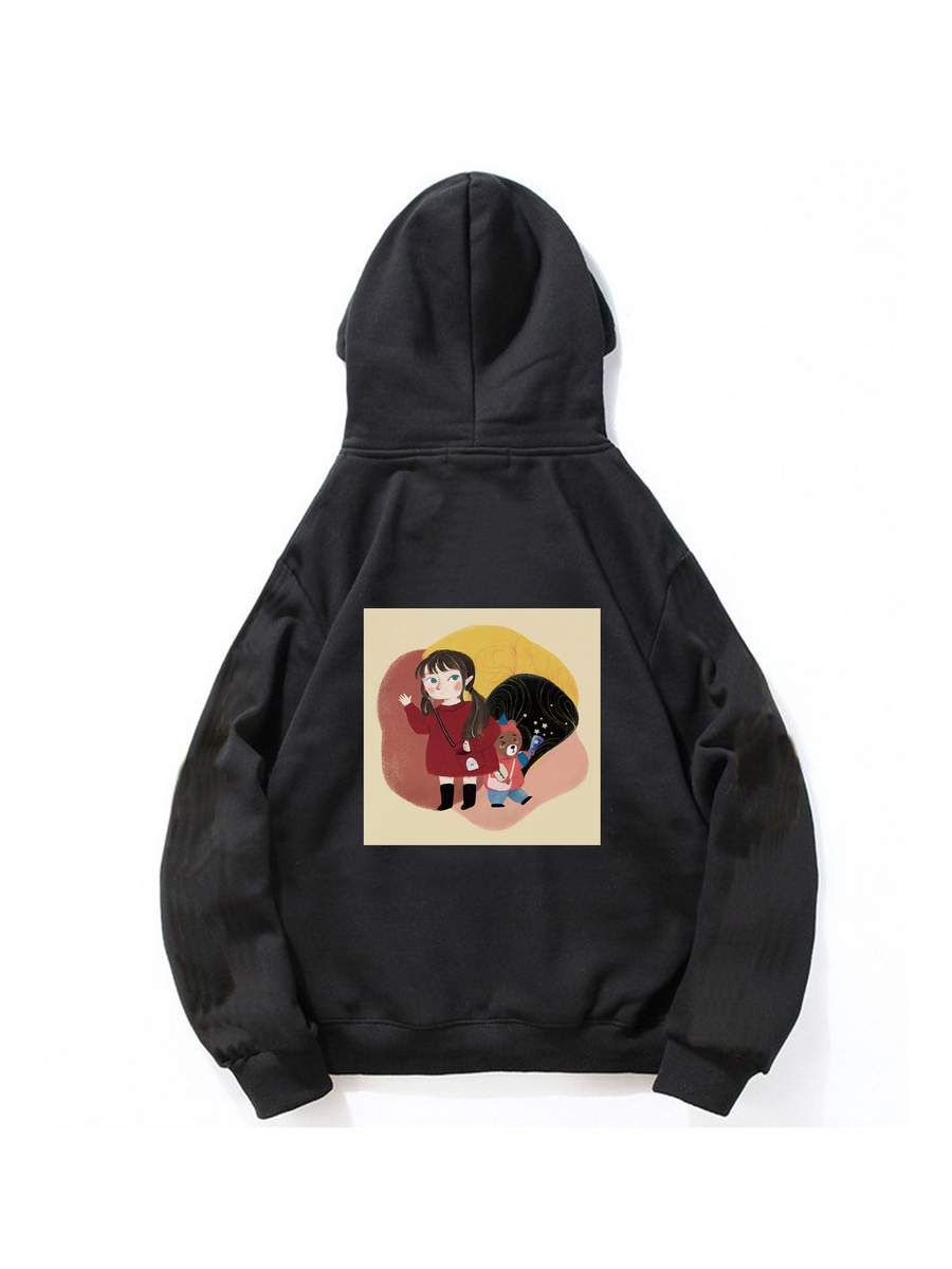 Modakawa Sweatshirt Black / M Modakawa Anniversary Limited Edition Hoodie : With You