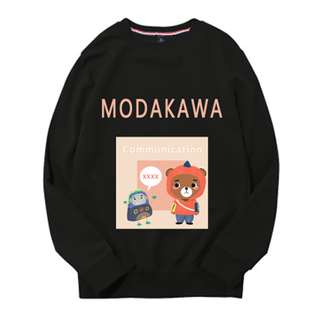Modakawa Sweatshirt Black / M Modakawa Anniversary Limited Edition Sweatshirt : Communication