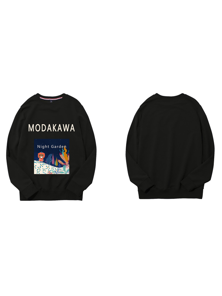 Modakawa Sweatshirt Black / M Modakawa Anniversary Limited Edition Sweatshirt : Night Garden