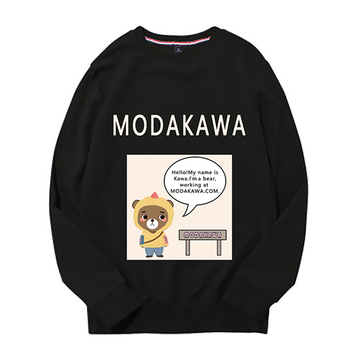 Modakawa Sweatshirt Black / M Modakawa Anniversary Limited Edition Sweatshirt : Self Introduction