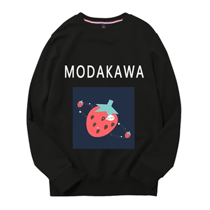 Modakawa Sweatshirt Black / M Modakawa Anniversary Limited Edition Sweatshirt : Strawberry Universe