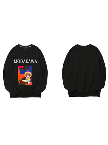 Modakawa Sweatshirt Black / M Modakawa Anniversary Limited Edition Sweatshirt : Surface Space