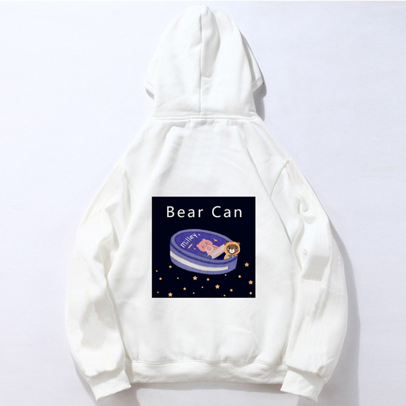 Modakawa Sweatshirt White / M Modakawa Anniversary Limited Edition Hoodie : Bear Can